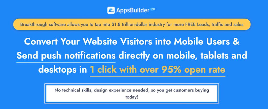 Kit Sani -AppsBuilder Pro powerful Progressive Web App for your business to engage more visitors and increase sales