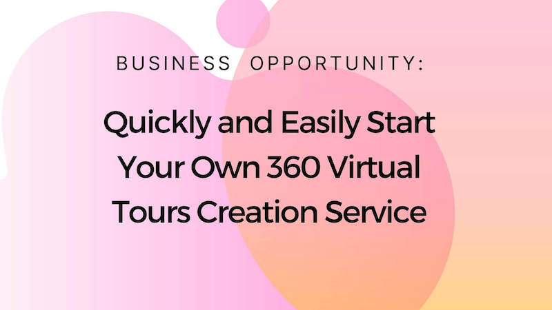 Chat Virtual Tours - Interactive 360 virtual tours creation service - business opportunity - start your new business quickly and easily with ready-made agency package