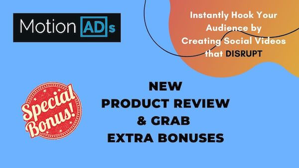 Motion Ads Training - Helping you Create Social media Video posts and ads that Disrupt