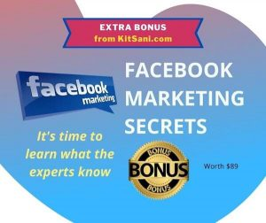 Kitsani.com Exclusive Bonuses - Facebook Marketing Secrets