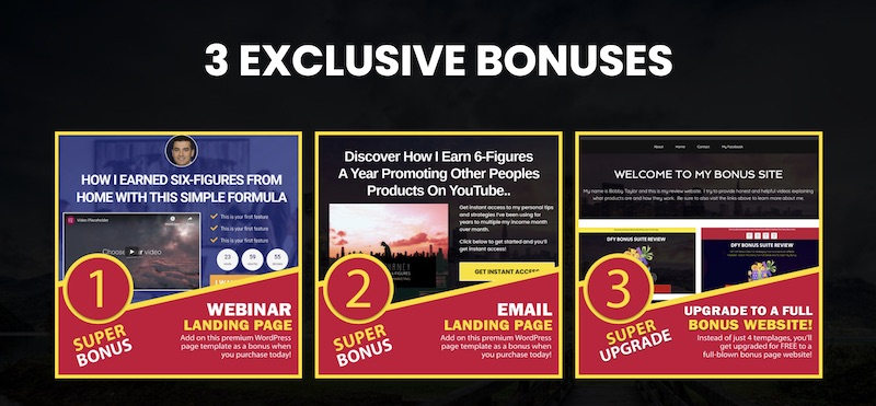Get Exciting Exclusive Vendor Bonuses for DFY Bonus Suite