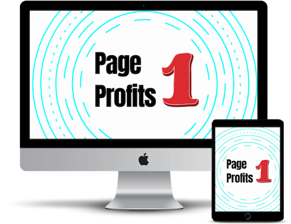 What Is Page One Profits? The software literally automates process of making your content on the first Page