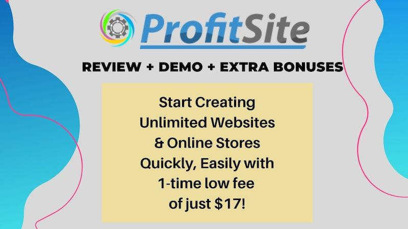 ProfitSite-1 Product Image - Create & Host Unlimited Websites On Our Cloud Hosting Servers For A Low One Time Fee Dozens Of Done-For-You Niche Templates Built-In