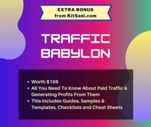 Kitsani.com Bonus - Traffic Babylon