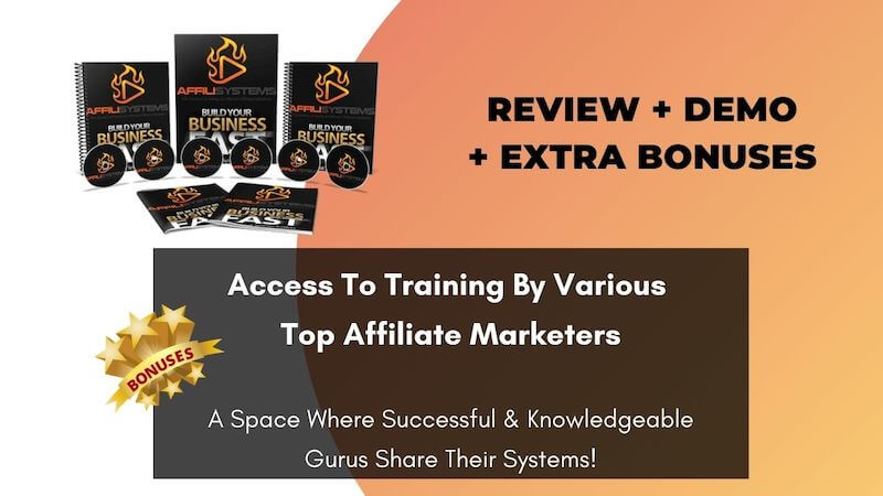 AffiliSystems is a One-Stop shop where you will get all the A's to Z's of Affiliate Marketing - covering each and every aspect of this business