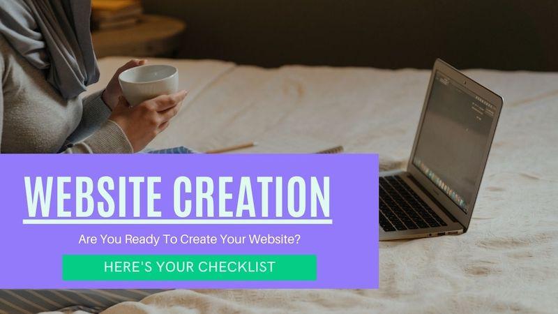 How to build a new website checklist by Kitsani.com