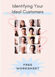 Identify Your Ideal Customer Worksheet cover