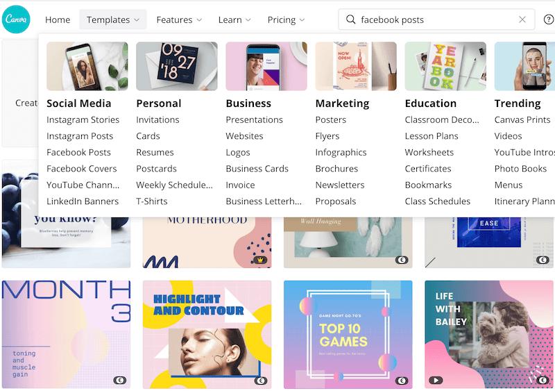 Free Canva design software app