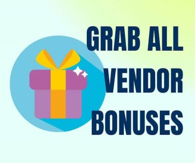 All Vendor Bonuses - from Kitsani.com